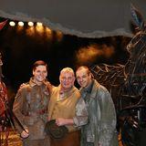 """Im Stage Theater des Westens in Berlin feiern Philipp Lind, Heinz Hoenig und Andreas Koehler mit dem Stück """"Gefährten"""" (nach dem englichen Erfolgsstück """"War Horse"""") Premiere."""