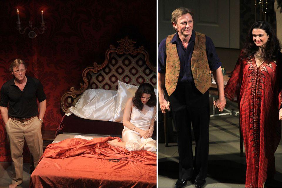 """Daniel Craig und Rachel Weisz spielen zusammen am Broadway. Im Stück """"Betrayal"""" stellt Weisz Craigs betrügende Ehefrau dar."""