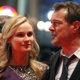 """Diane Kruger und Sebastian Koch geben bei der """"Unknown""""-Premiere ein schönes Pärchen ab."""
