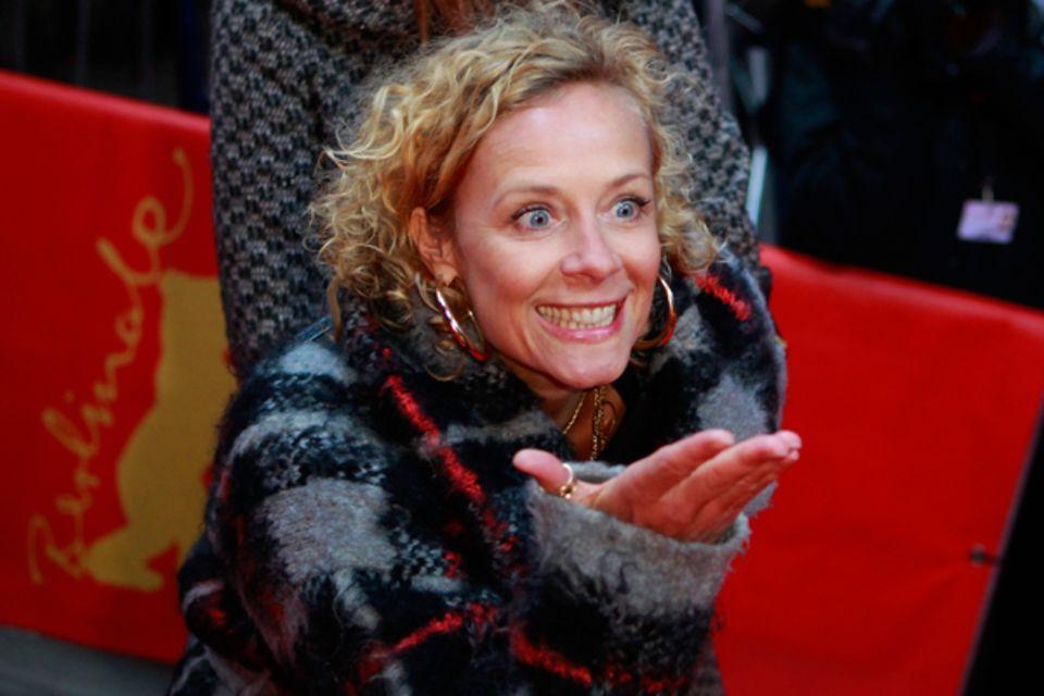 """Katja Riemann freut sich auch auf """"The King's Speech""""."""