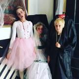 Gruuuseliiig: Naomi Watts beweist mit ihren Kindern viel Einfallsreichtum zu Halloween.