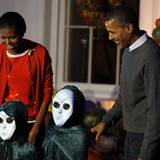 Halloween Partys: Barack und Michelle Obama