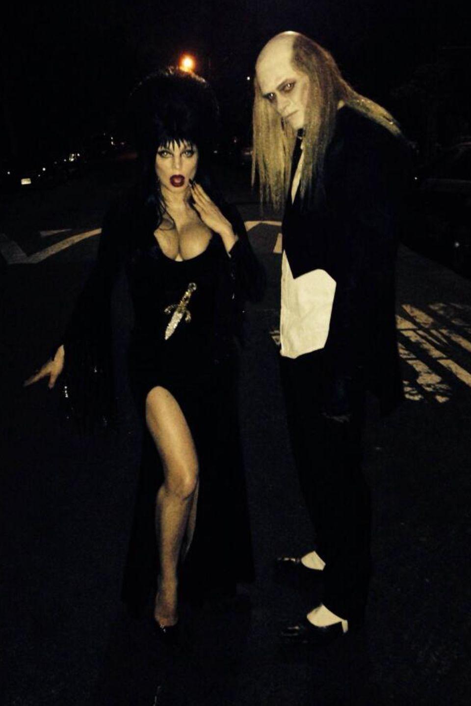Fergie und Josh Duhamel zeigen sich auch in diesem Jahr in gelungenen Halloween-Kostümen.