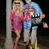 Kaum zu erkennen sind Fergie und Josh Duhamel in ihrer Verkleidung.