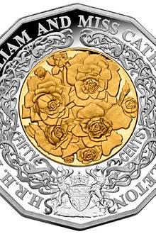 Auch in Australien wird es ab dem 30. März es eine 50 cent Münze zum Andenken and die Hochzeit in England geben.