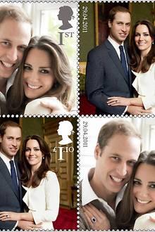 Diese royalen Briefmarken werden es ab dem 21. April erhältlich sein.