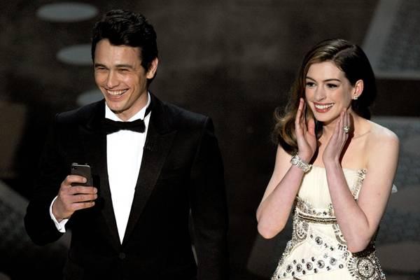 James Franco und Anne Hathaway moderierten die Oscars 2011 im Doppelpack.