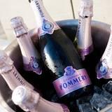 Der Champagner von Pommery sorgte für die perfekte Stimmung.