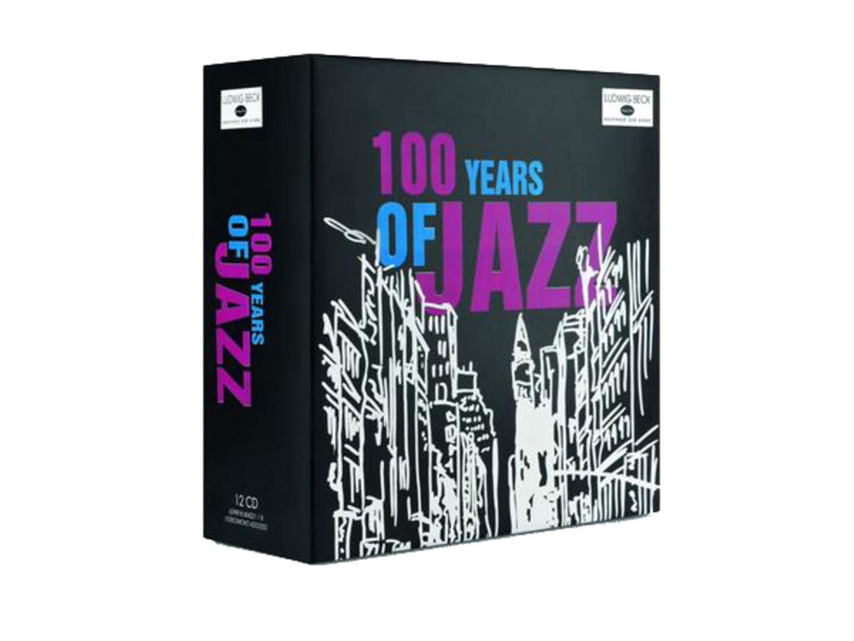 """Beck-Exklusiv- Edition """"100 Jahre Jazz"""", 12 CDs, ca. 40 Euro"""