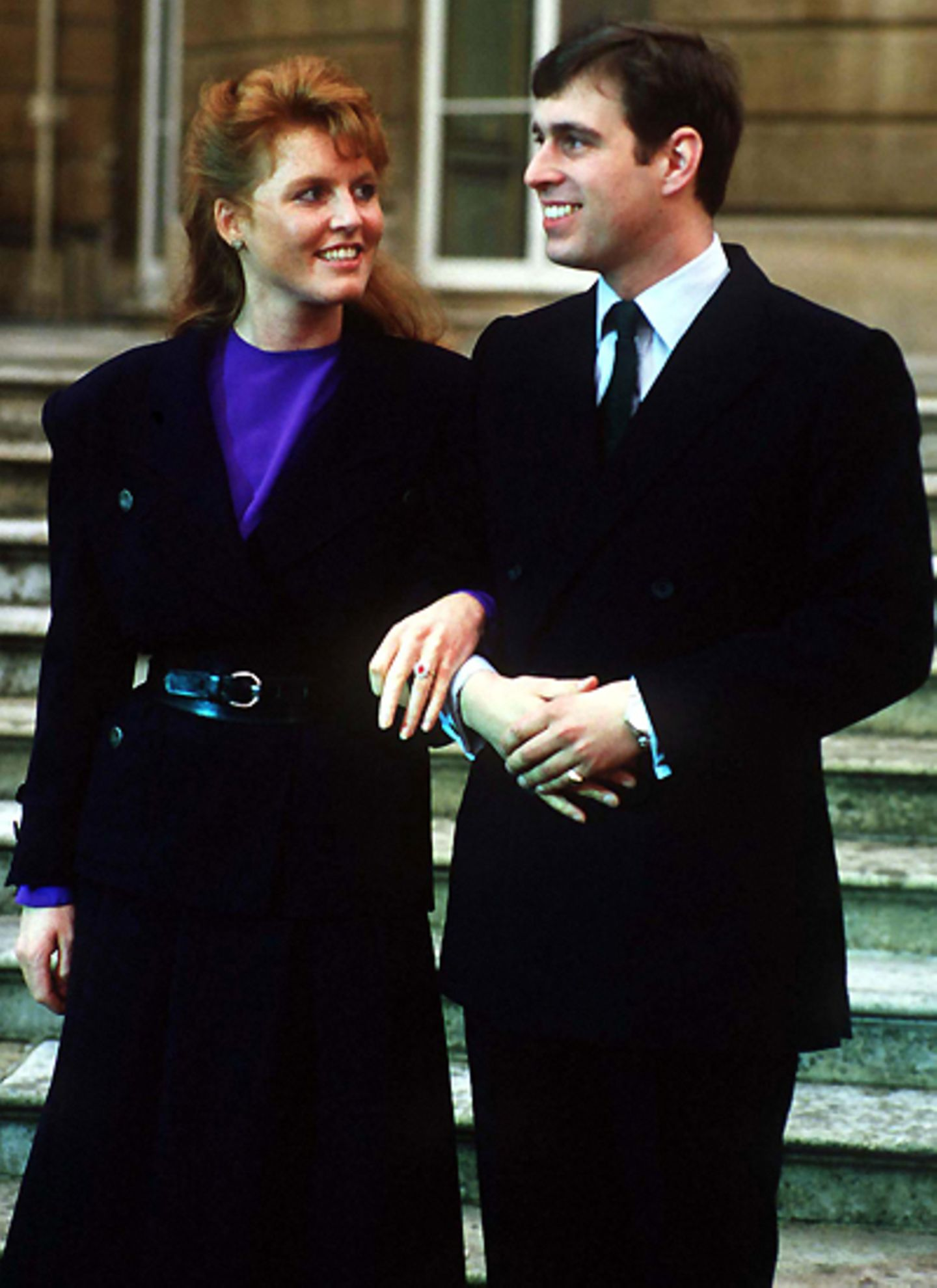 17. März 1986: Sarah Ferguson und Prinz Andrew.