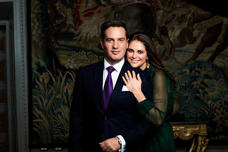 25. Oktober 2012: Prinzessin Madeleine und Christopher O'Neill: Die schwedische Prinzessin kann zweieinhalb Jahre nach ihrer gep