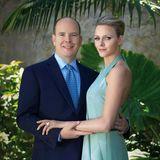23. Juni 2010: Fürst Albert und Charlene Wittstock