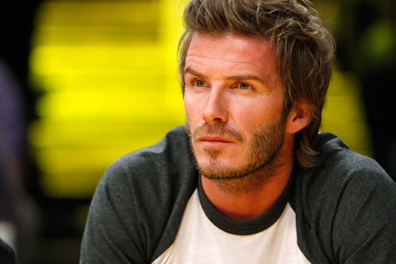 Geburtstage Mai: David Beckham - 2.05. (36 Jahre)