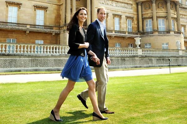 Prinz William und seine Frau wirken am Tag nach ihrer Trauung ganz entspannt.