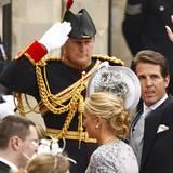 Griechenlands Kronprinz Pavlos mit Prinzessin Marie-Chantal