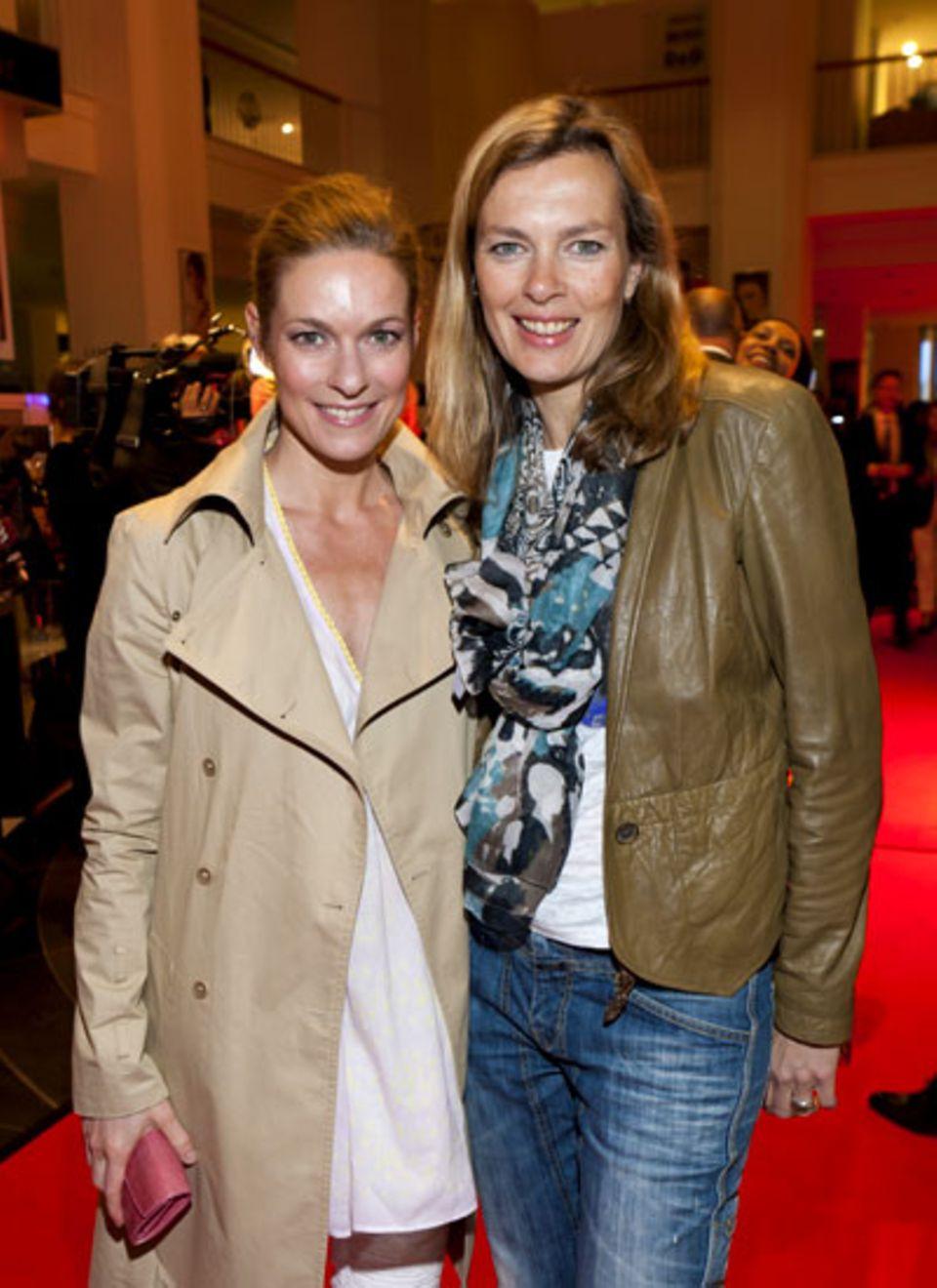 Lisa Martinek und GALAs stellvertretende Chefredakteurin Astrid Saß
