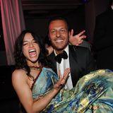 """Filmfestival Cannes: Michelle Rodriguez und Jean Roch feiern ausgelassen bei einer Party im """"VIP Room""""."""