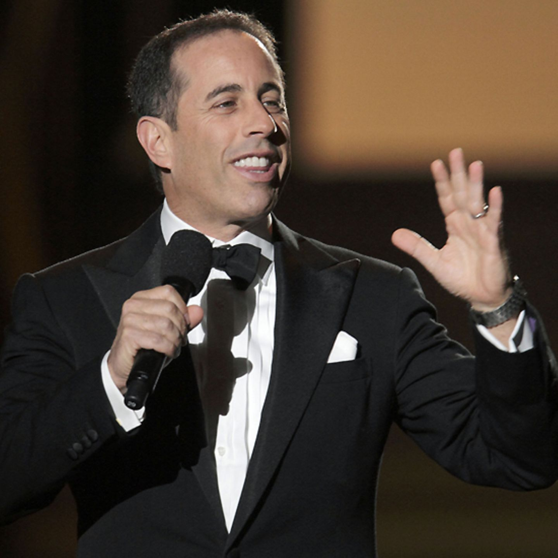 US-Comedian Jerry Seinfeld richtet ein paar Worte an Oprah.