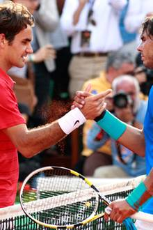 Rafael Nadal besiegt Roger Federer im Finale.