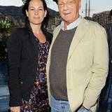 Rennsport-Experte Niki Lauda mit seiner Frau Birgit