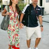 Rubens und Silvana Barrichello