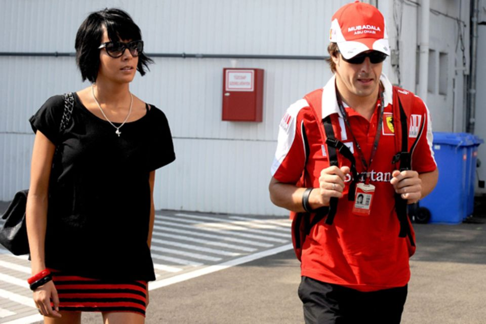 Fernando Alonso und Raquel del Rosario
