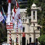 """Nach der Trauung wird Charlene Wittstock ihr Blumenbouquet in der """"Sainte Devote""""-Kirche niederlegen."""