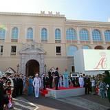 Fürst Albert II. bedankt sich mit einer herzlichen Rede auch bei seinen Monegassen.