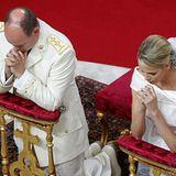 Das Fürstenpaar im Gebet