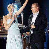 Viva Monaco! Mit diesem Ausruf hat Fürstin Charlene auch das letzte monegassische Herz erobert.