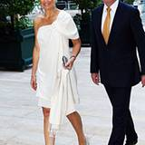 Auch Prinzessin Máxima und Prinz Willem-Alexander machen sich auf den Weg zu den abendlichen Feierlichkeiten.