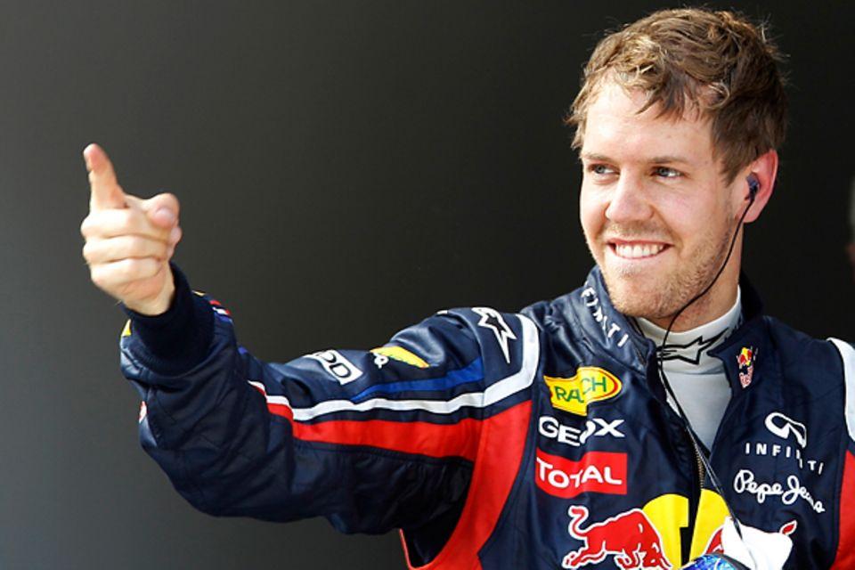 Sebastian Vettel - 3.07. (24 Jahre)