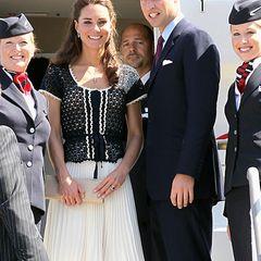 Staatsbesuch William und Kate: Jede Reise hat leider mal ein Ende. Gönnen wir Kate und William eine Verschnaufpause und freuen u