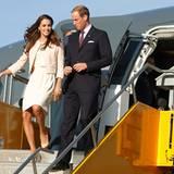 Staatsbesuch William und Kate: Weiter geht es nach Charlottetown.