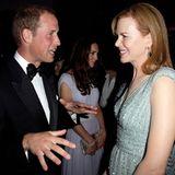 Staatsbesuch William und Kate: ... und auch Nicole Kidman.