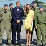 Staatsbesuch William und Kate: Die letzte Station ihrer Kanada-Tour heißt Calgary