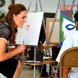 Staatsbesuch William und Kate: Ob Kate etwa abguckt?