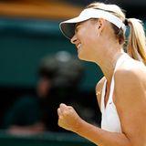 Wimbledon: Maria Sharapova kämpft und kämpft...