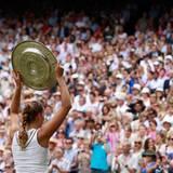 Wimbledon: Am Ende heißt die Siegerin Petra Kvitova.