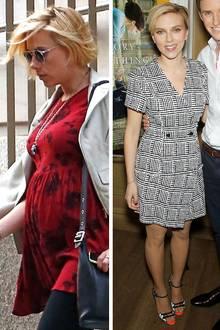 """Es war ihr erster offizieller Auftritt nach der Geburt ihrer Tochter Rosie im September - und Scarlett Johansson sah schon wieder umwerfend aus. Keine Spur von hinterbliebenen Babypfunden. Stattdessen glänzte sie bei der Vorstellung des Films """"Die Entdeckung der Unendlichkeit"""" mit ihrer typisch weiblichen, schlanken Figur."""