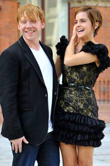 Rupert Grint und Emma Watson