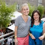 Petra Fladenhöfer (KaDeWe) und Tina Heyl (comma GmbH)