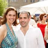 Kerstin Pooth (Peek & Cloppenburg) und Tim Waller (Estée Lauder)
