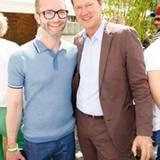 GALA-Modechef Marcus Luft und Philip Wolf (Hugo Boss)