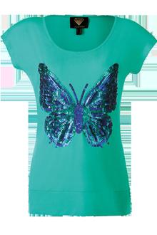 Pailetten-Papillon