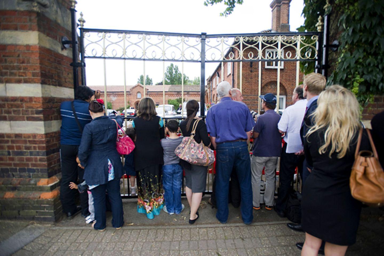 Beerdigung Amy Winehouse: Edgwarebury Friedhof