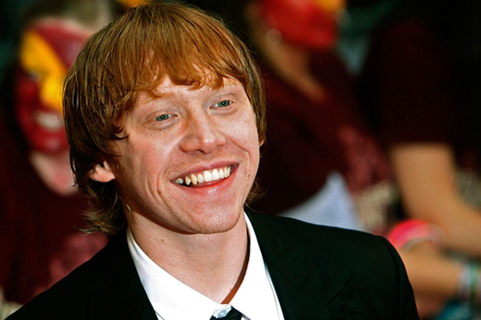 Geburtstage August: Rupert Grint - 24.08. (23 Jahre)