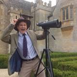 21. September 2012: David Hasselhoff macht das Königreich Großbritannien unsicher. Der Amerikaner scheint sich in Schlips und Kr