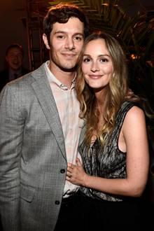 """23. August 2016: Adam Brody und seine Frau Leighton Meester haben ihre Tochter zu Hause gelassen und feiern die TV-Serie """"StartUp"""" in Los Angeles."""