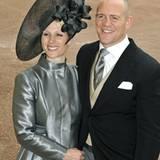 29. April 2011: Zara Phillips mit ihrem Verlobten Mike Tindall bei der Hochzeit von ihrem Cousin Prinz William. Am 30. Juli tret